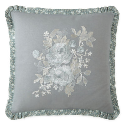 Home Expressions™ Gardenbrook Square Decorative Pillow