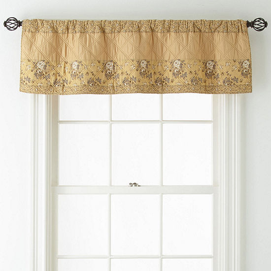 Home Expressions Gardenbrook Pinch Pleat Valance