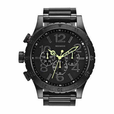 Rocawear Mens Black Bracelet Watch-Rm7773bk1-227