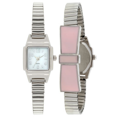 Womens Silver Tone Expansion Watch-Jcp1435