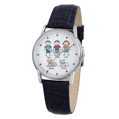 Unisex Black Strap Watch-41479
