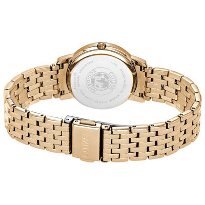 Citizen Womens Rose Goldtone Bracelet Watch-Ex1483-50d