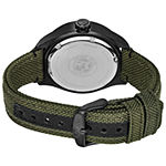 Citizen Chandler Mens Green Strap Watch-Bu2055-16e