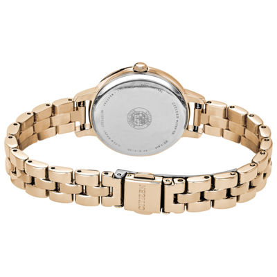 Citizen Womens Rose Goldtone Bracelet Watch-Ew2443-55x