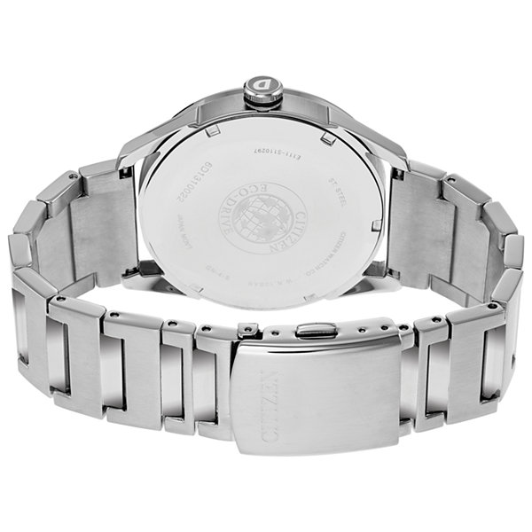 Drive from Citizen Mens Silver Tone Bracelet Watch-Bm6991-52h