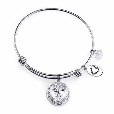 Footnotes Bangle Bracelet