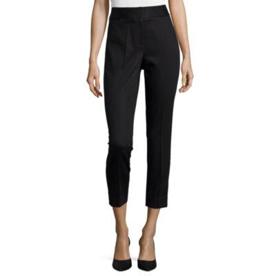 Liz Claiborne Slim Fit Ankle Pants-Talls