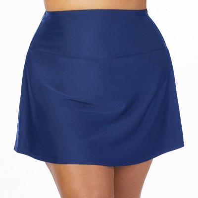 St. John's Bay Solid Swim Skirt - Plus