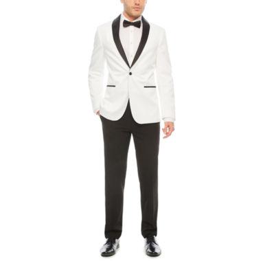 jcpenney.com | JF J. Ferrar White Tuxedo Jacket
