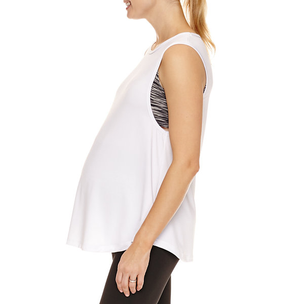 Planet Motherhood Scoop Neck Tank