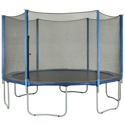 Upper Bounce Trampoline Replacement Net: Fits for7.5 ft Using 6 Straight Poles (NET ONLY)