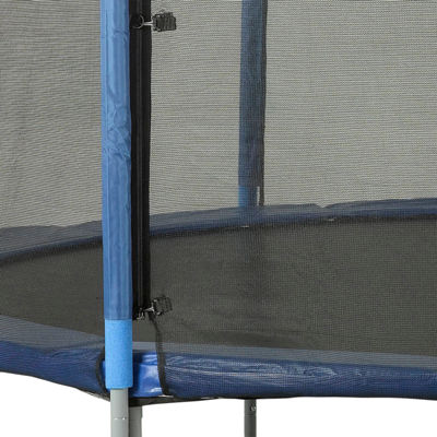Upper Bounce Trampoline Enclosure Set  to fit 13 ft  for 3 or 6 W-Shaped Legs (Net Poles & HardwareOnly)