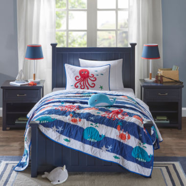 Mi Zone Under The Sea Coverlet Set