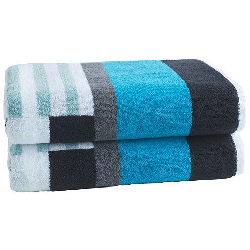 Loft By Loftex Trestle 2-Pc. Bath Towel Set