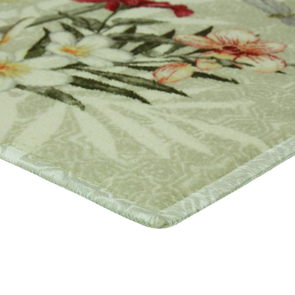 Elegant Dimensions Boho Garden Tossed Printed Rectangle Rugs