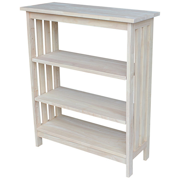Mission 4-Shelf Bookshelf