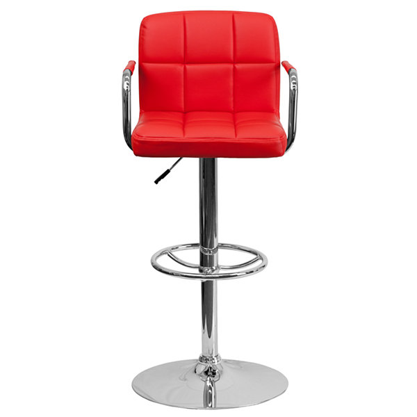 Quilted Design Contemporary Barstool