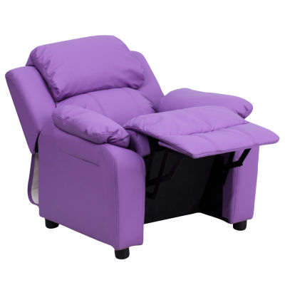 Kids Plush Recliner