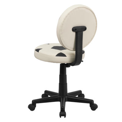 Kids Armless Baseball Task Chair