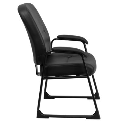 HERCULES Series Big & Tall 400 lb. Rated ExecutiveSide Chair with Sled Base
