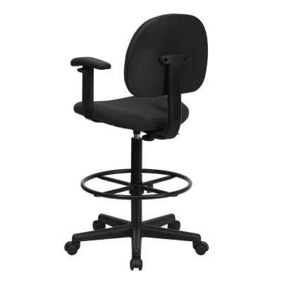 Low-Back Drafting Stool