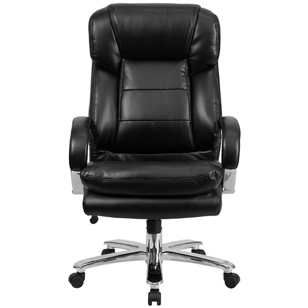 Contemporary Multi-Shift Big & Tall Leather Office Chair