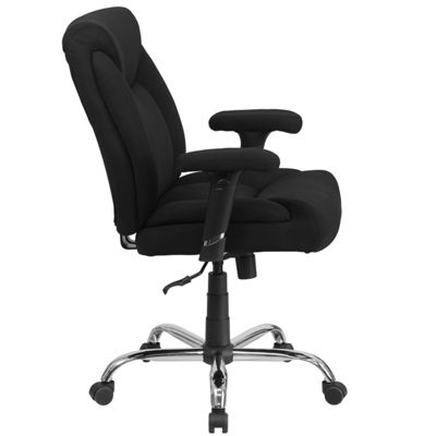 HERCULES Series Big & Tall 400 lb. Rated Swivel Task Chair with Adjustable Arms