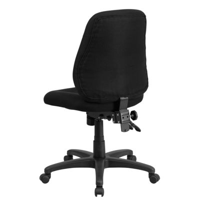 Mid-Back Fabric Multifunction Ergonomic Swivel Task Chair
