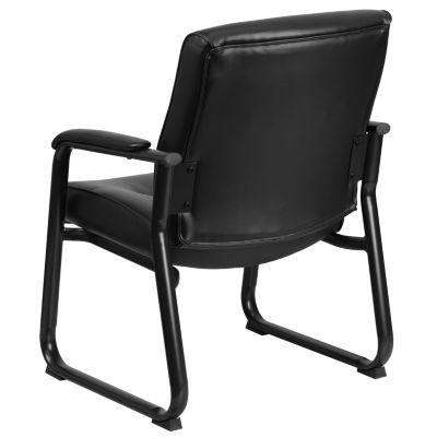 Executive Big & Tall Leather Guest Chair