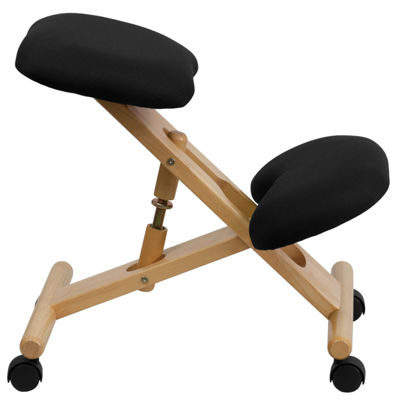 Mobile Wooden Ergonomic Kneeling Chair