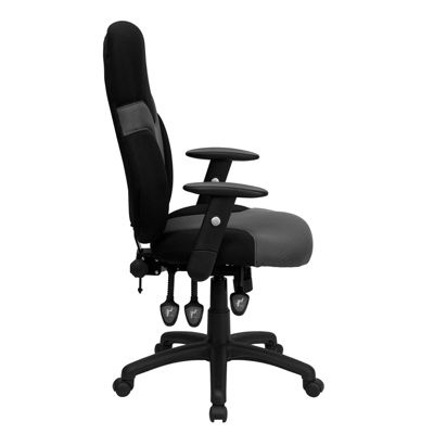 Tripple Control Mechanism High Back Task Chair