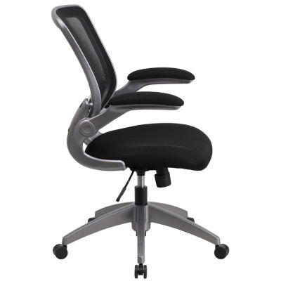 Contemporary Flexible Mesh Mid Back Task Office Chair