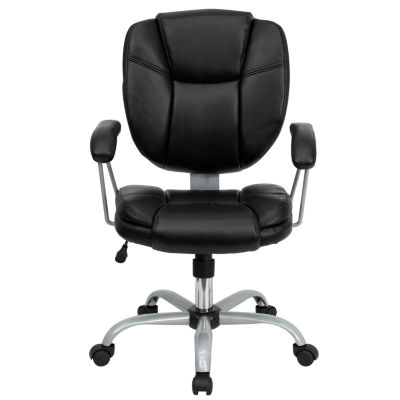 Contemporary Pillow Top Cushion Task Office Chair