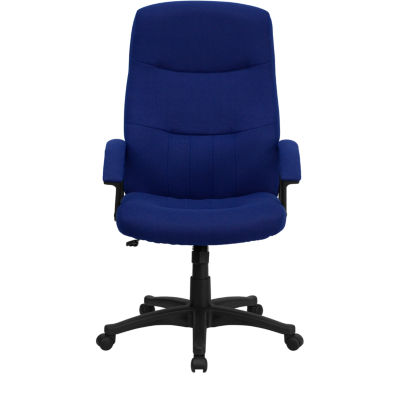 Upholstered High-Back Office Chair
