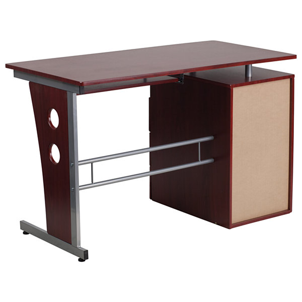 Mahagony 3 Drawer Desk