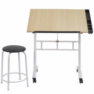 2-Pc Studio Craft Center Standing Desk