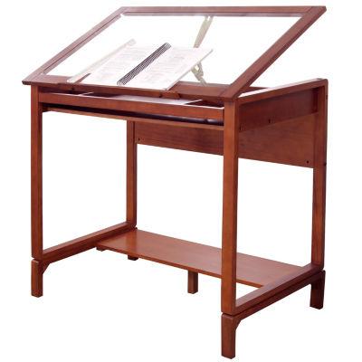 Ponderosa Wood Standing Desk Leg Extensions