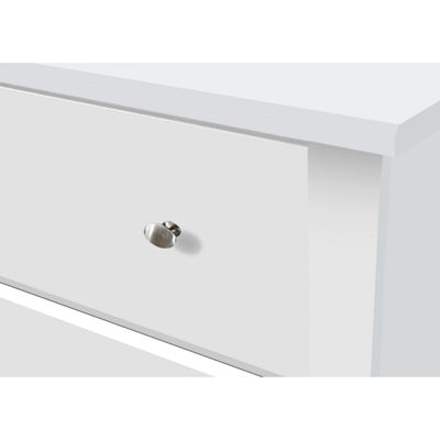 Storkcraft Crescent 6-Drawer Chest - White