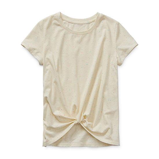 Arizona Little & Big Girls Short Sleeve T-Shirt