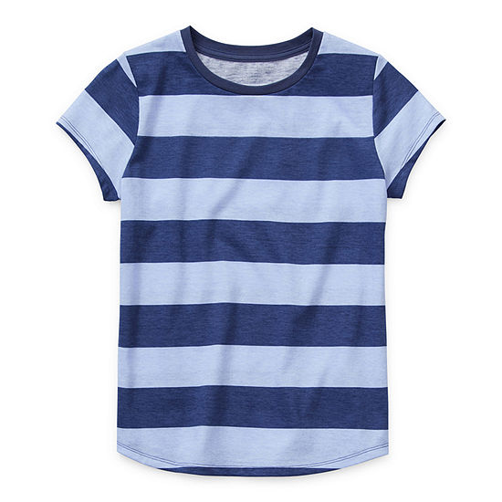 Arizona - Little /Big Kid Girls Round Neck Short Sleeve Graphic T-Shirt