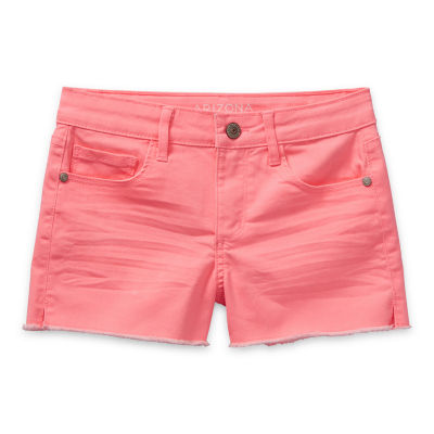 Arizona Little & Big Girls Adjustable Waist Shortie Short