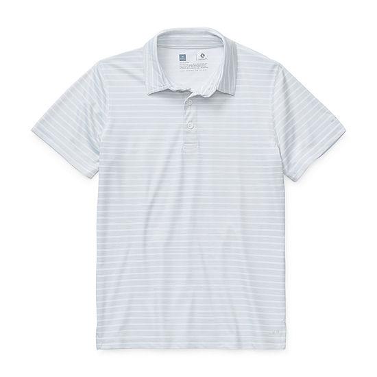 Xersion Little & Big Boys Short Sleeve Moisture Wicking Polo Shirt