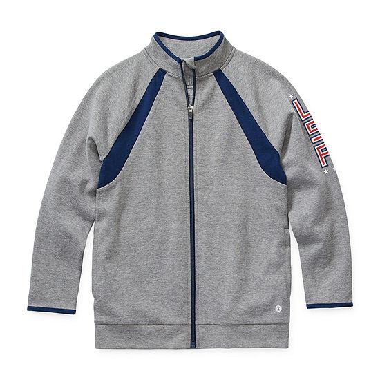 Xersion Little & Big Boys Midweight Track Jacket
