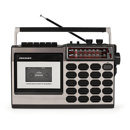 Crosley CT100 Retro Cassette Player and AM/FM Radio