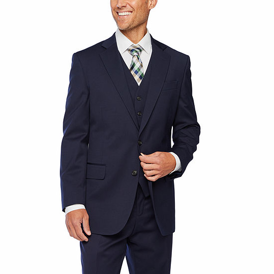 Stafford Super Suit Navy Classic Fit Suit Separates