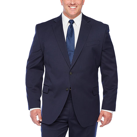 Stafford Super Suit Navy Suit Separates - Big and Tall