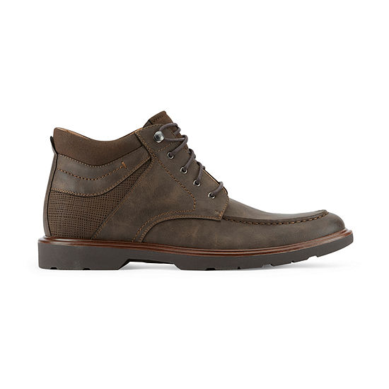 Dockers Mens Glenridge Lace Up Flat Heel Boots