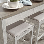 Signature Design by Ashley Skempton 4-pc. Counter Height Rectangular Dining Set