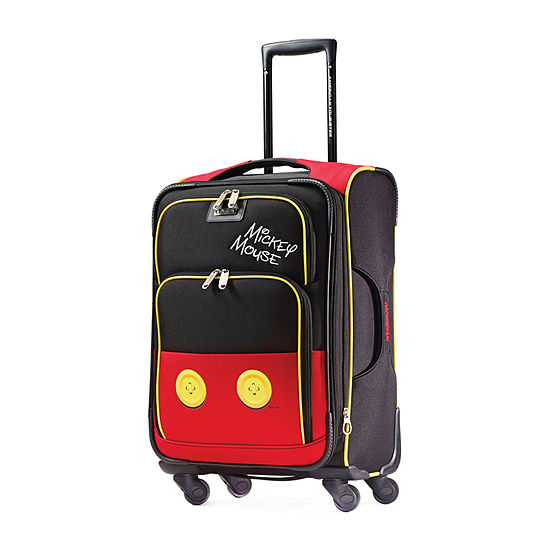 American Tourister Disney Mickey Pants 21 Inch Lightweight Luggage