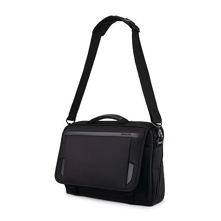 Samsonite Pro 15.6 Inch Slim Messenger Bag, One Size , Black